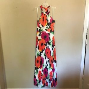 Eliza J Bright Floral Maxi Dress